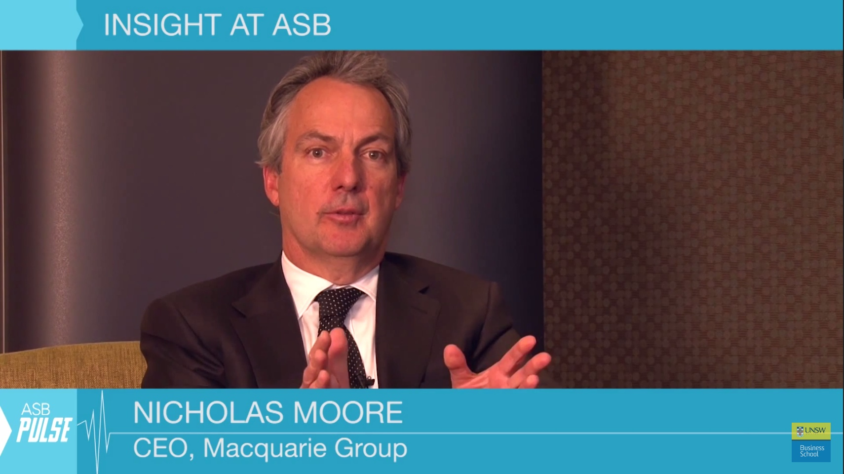 ASB Pulse – Episode 12 – Free Advice from CEO Nicholas Moore