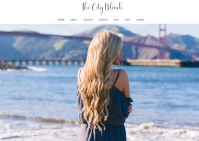 The City Blonde Website
