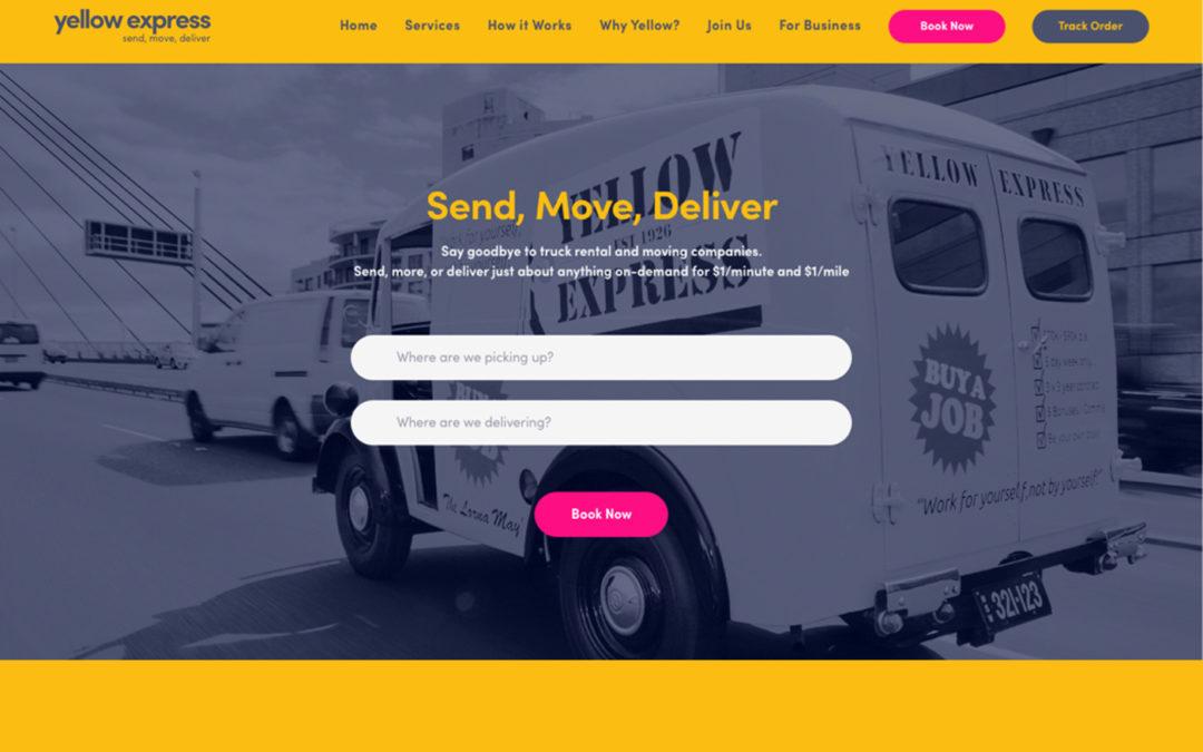 Yellow Express Website
