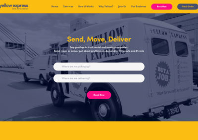 Yellow Express Website
